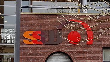 SSW-logo op de watyerman 45